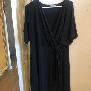 Jennifer Lopez Plus Black Dress